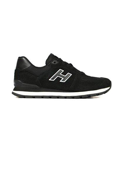 Hammer Jack Erkek Siyah Hakiki Deri Ayakkabı