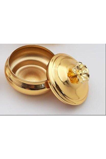 HELVACIOĞLU AKSESUAR Hlv Kapaklı Lokumluk Gold