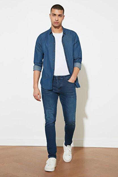 TRENDYOL MAN Mavi Erkek Skinny Jeans TMNAW20JE0403