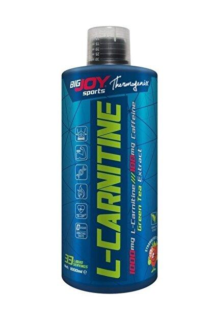 Big Joy Bigjoy L-carnitine 1000 ml Çilek Aromalı Karnitin Likit