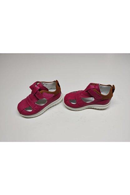 Vicco Kız Çoçuk Fuşya İlk Adım Deri Ayakkabısı Sandalet