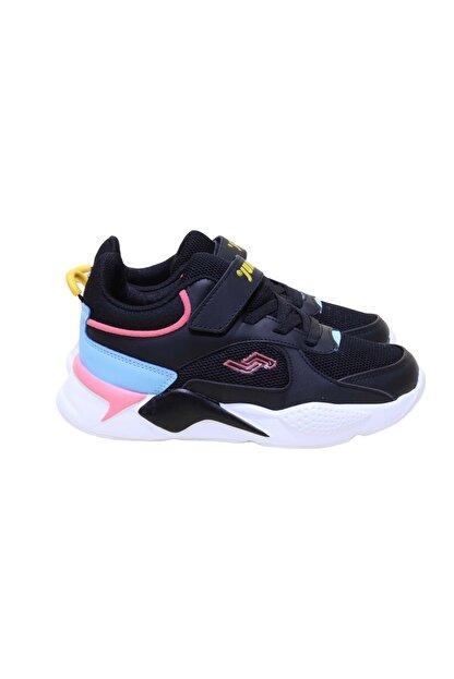 Jump 24931 Çocuk Sneakers Spor Ayakkabı - Siyah - 30