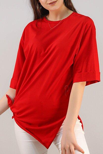 Lukas Süprem Salaş Tshirt Kırmızı - 2946.222.