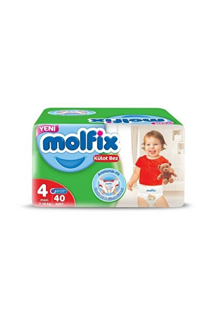 Molfix Jumbo Paket Külot Bez No:4 Maxi 9-14 kg 30'lu