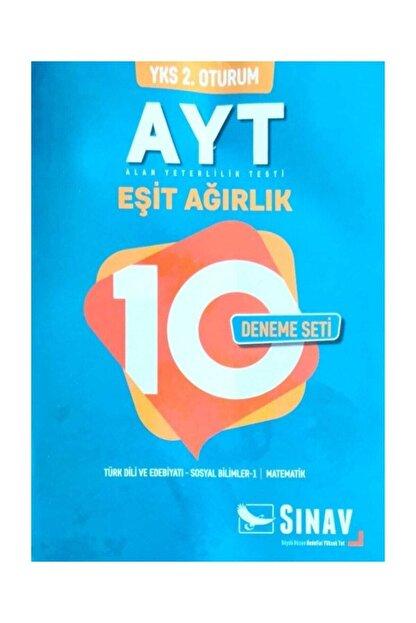 Sınav Yayınları Yks 2oturum Ayt Eşit Ağırlık 10 Deneme Seti