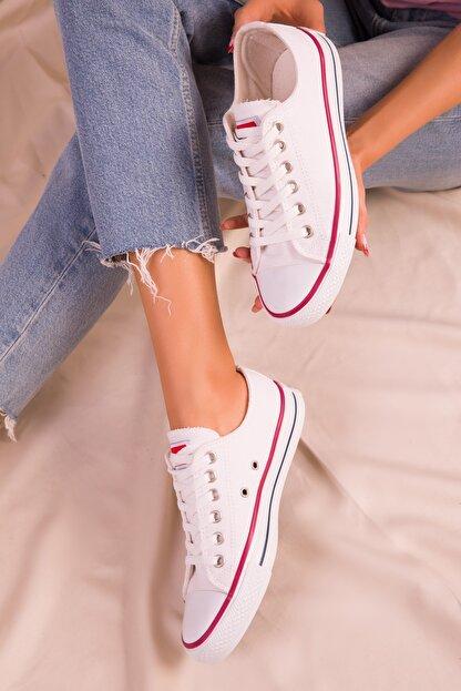 Soho Exclusive Beyaz Kadın Sneaker 15866