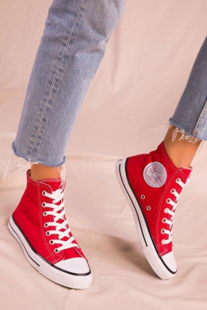 Soho Exclusive Kırmızı Kadın Sneaker 15865