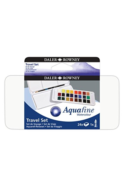 Daler Rowney Aquafine Travel Set 24'lü