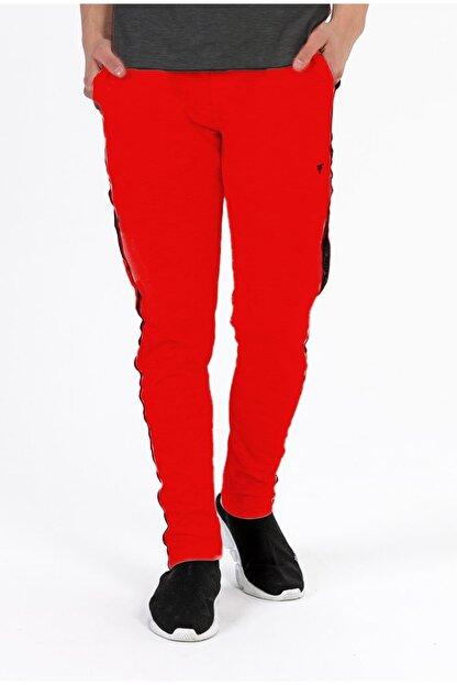 Fabregas Erkek Kırmızı  Şeritli Eşofman Altı