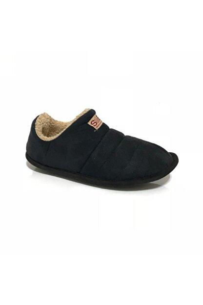 LOKER Unisex Siyah Ev Ayakkabısı