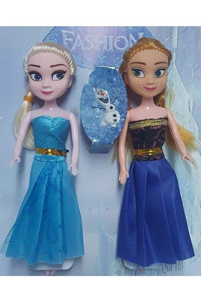 Atlas Oyuncak 2li Fashion Elsa Ve Anna Bebek 18 cm