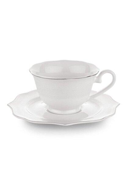Schafer Dantella 6 Kişilik Porselen Türk Kahve Fincan Takımı