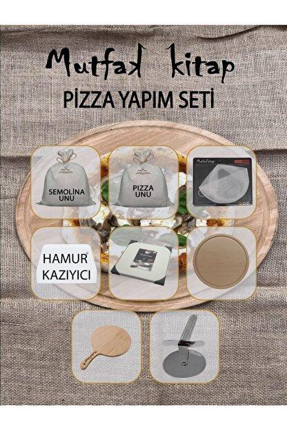 mutfakkitap pizza yapim seti eksi maya