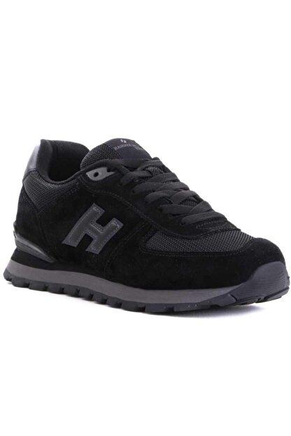 Hammer Jack Erkek Siyah Hakiki Deri Confort Casual Günlük Spor Ayakkabısı 19250