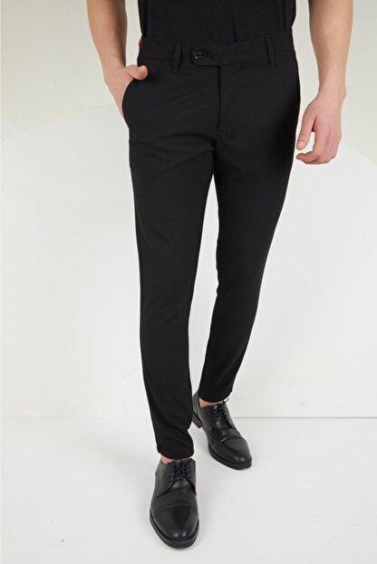 Vagabond tarz giyim Erkek Kumaş Pantolon Siyah