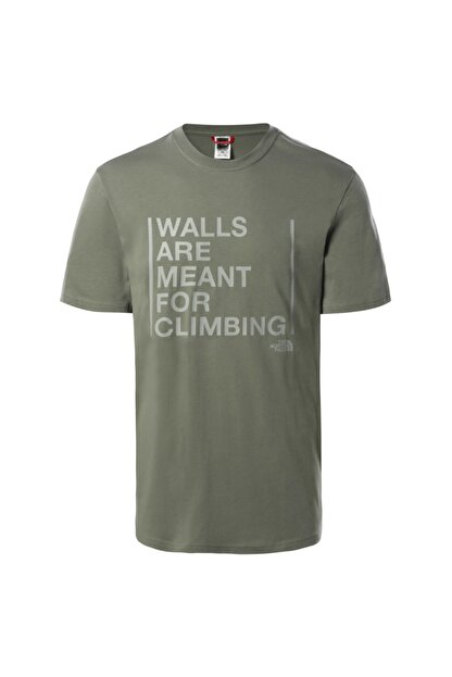 The North Face Erkek Walls Are For Climbing T-shirt - T93s3sv38