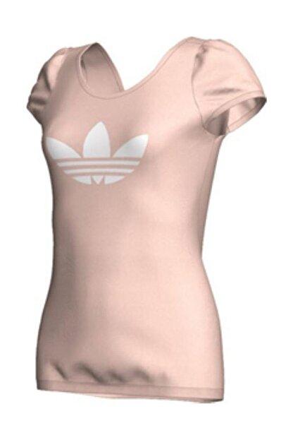 adidas Kadın Günlük Tişört Krem Cs Jen Tee X34001