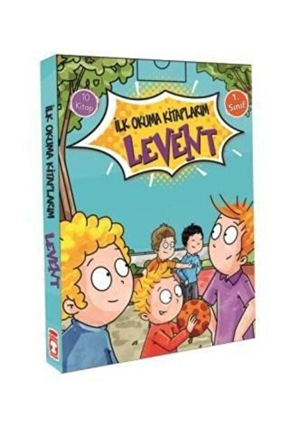 Timaş Çocuk Levent Ilk Okuma Kitaplarım Serisi 10 Kitap