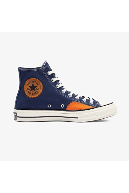 Converse Chuck 70 Ripstop And Canvas Hi Erkek Mavi Sneaker