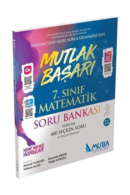 Muba Yayınları Mutlak Başarı 7. Sınıf Matematik Soru Bankası
