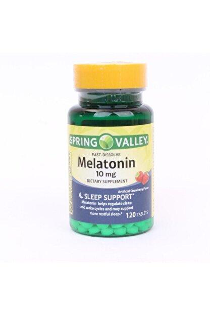 SPRİNG Valley Melatonin Fast Dissolve 10 mg 120 Tablet