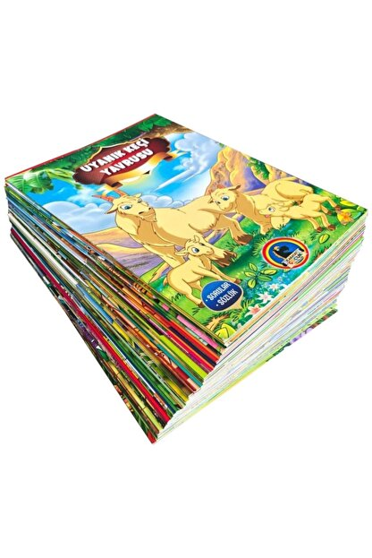 Karatay Yayınları Karatay Masal Diyarı Seti 50 Kitap 1. Sınıf Hikaye Kitabı