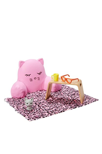 Barbie Ev Aksesuar Paketleri Oyun Seti GRG56-GRG57
