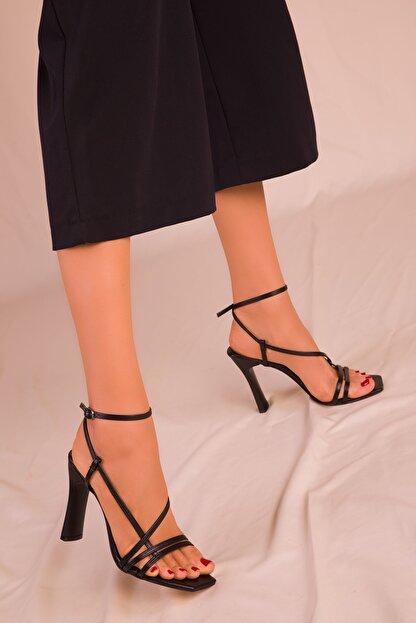 Soho Exclusive Siyah Kadın Klasik Topuklu Ayakkabı 15859