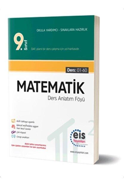 Eis Yayınları Eis 9. Sınıf Matematik Daf Ders Anlatım Föyleri