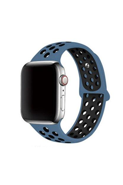 Zore Apple Watch 44mm 2-3-4-5-se-6.Nesil Uyumlu Silikon Kordon
