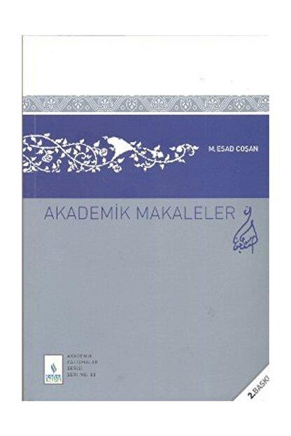Server Yayınları Akademik Makaleler - M. Es'ad Coşan