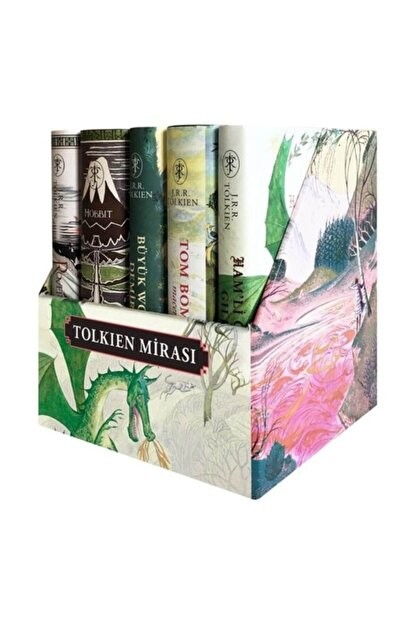 İthaki Yayınları Tolkien Mirası Kutulu 5 Kitap - John Ronald Reuel Tolkien