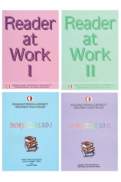ODTÜ Geliştirme Vakfı Yayıncılık Reader At Work 1 Ve 2 Ve More To Read 1 Ve 2