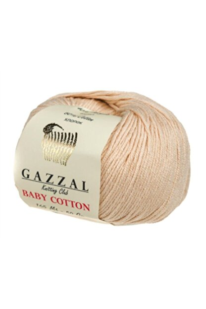 Gazzal Baby Cotton 3445 Pamuklu Amigurumi Ipi