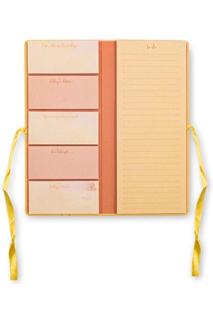 Victoria's Journals Yapışkanlı Not Kağıdı Planlayıcı 9x22cm Morning Dewyellow