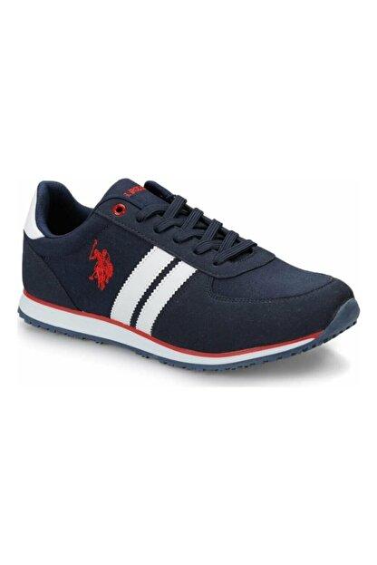 US Polo Assn PLUS 1FX Lacivert Erkek Sneaker Ayakkabı 100910647