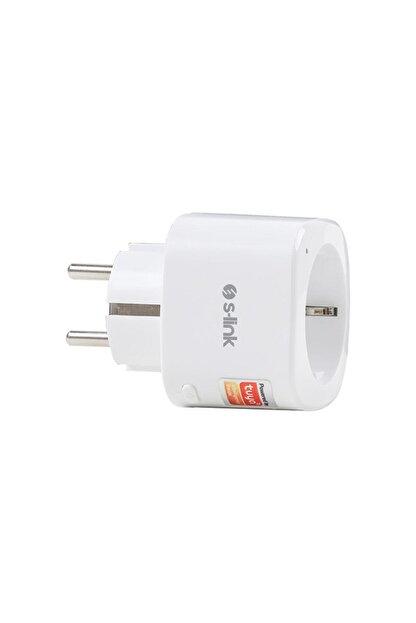 S-Link Swapp Akım Korumalı Akıllı Priz 2.4 Ghz Wifi Tuya Destekli Sl-05 16a