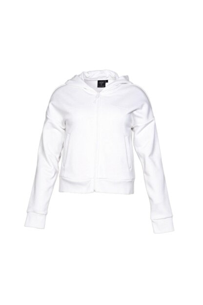 HUMMEL 920539 Kadın Beyaz Sweatshirt 920539-9003