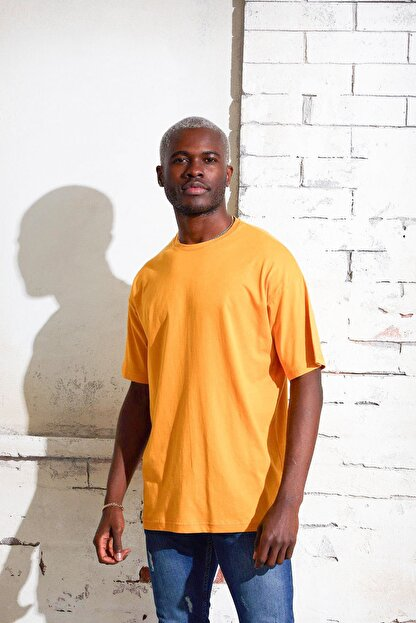 Densmood Pamuklu Oversize T-shirt