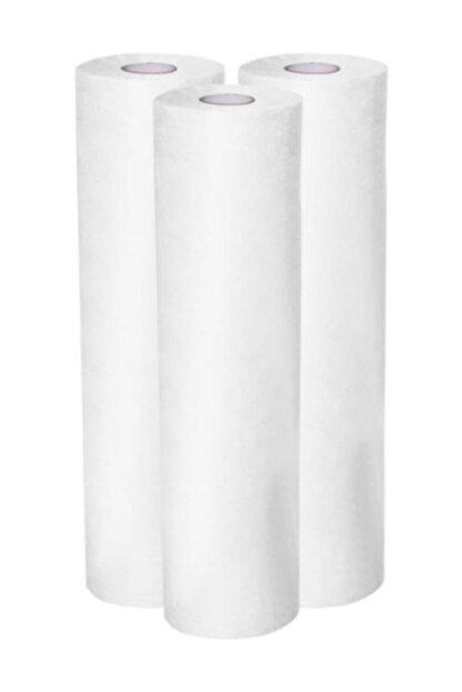 KARAHANÇER Sedye Örtüsü Laminasyonlu Rulo Sedye Örtüsü Sıvı Geçirmez 50cmx50 Mt 1 Rulo Kağıt Sedye Örtüsü