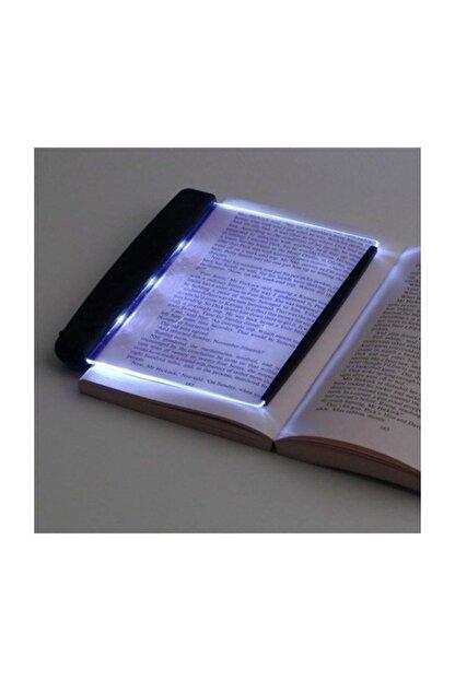 Zzn Kitap Aydınlatıcı Led Panel Okuma Çerçevesi Işıklı Kitap Ayracı