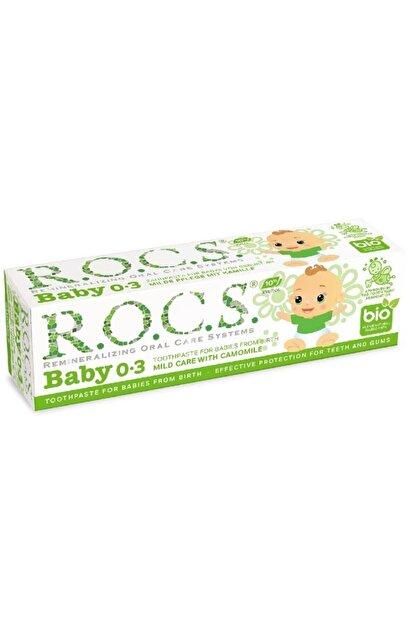 R.O.C.S. Rocs Baby Florürsüz Diş Macunu 0-3 Yaş 35 Ml Papatya