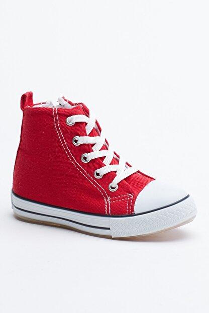 Tonny Black Kırmızı Çocuk Spor Ayakkabı Uzun Tb999
