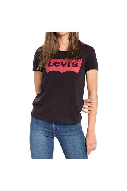 Levi's Kadın Siyah The Perfect T-shirt 17369-0201