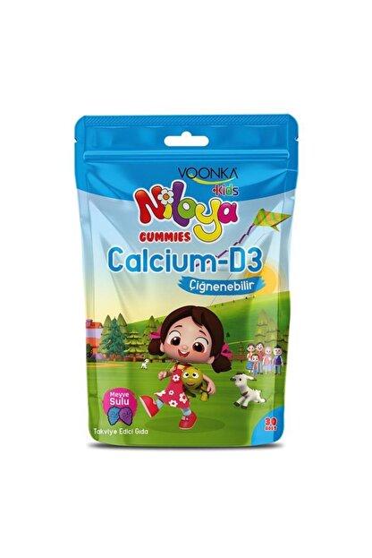 Voonka Niloya Calcium-d3 30 Çiğneme Tableti