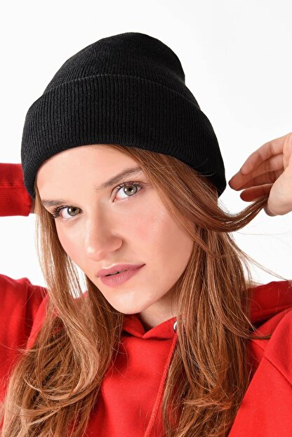 Addax Kadın Siyah Şapka Şpk12835 - Aks -e5 ADX-0000020470