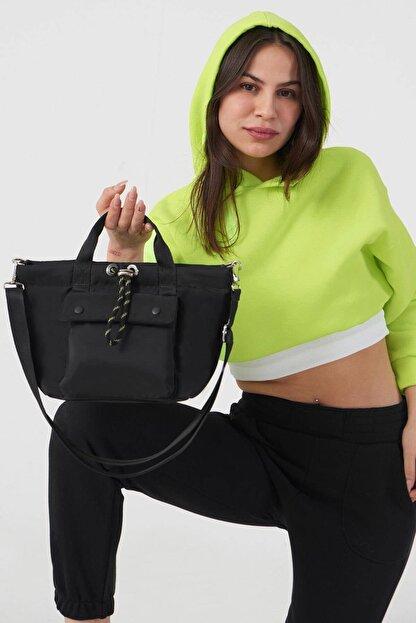 Addax Kadın Siyah Askılı Çanta Ç506 - F9 Adx-0000023734