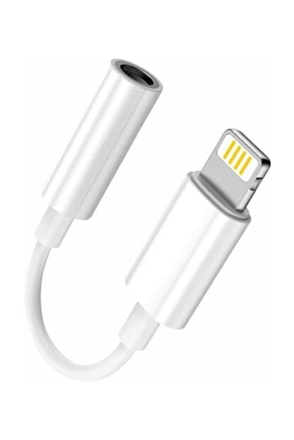 Mmctech Iphone 7 8 X Plus Uyumlu Kulaklık Çevirici Lightning Aux Dönüştürücü