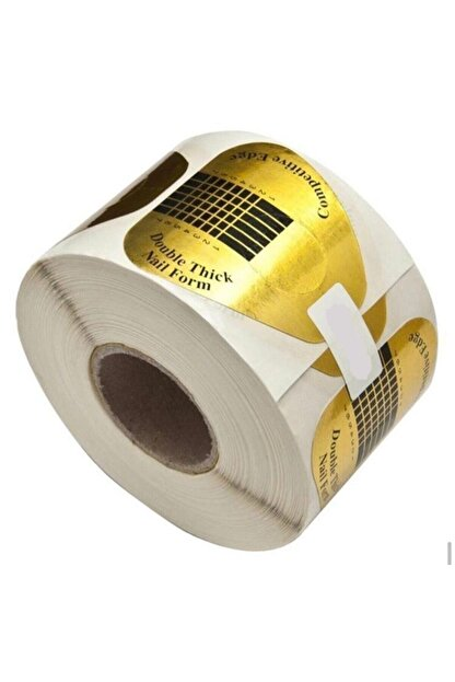 DIAMOND PROFESSIONAL Protez Tırnak Uzatma Kağıt Şablonu Top 50 Adet