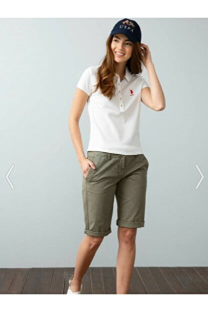 US Polo Assn Kadın Us Polo Assn Kadın Polo Yaka T-shirt G082sz011.000.734021